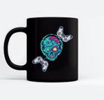 Console Arcade Control Zombie Halloween Candy Body Spooky Ceramic Coffee Black Mugs