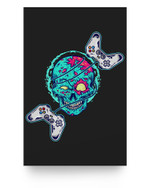 Console Arcade Control Zombie Halloween Candy Body Spooky Matter Poster