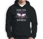 Save The Boo Bees Breast Cancer Pink Ribbon Halloween Party Sweatshirt & Hoodie