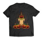 Scarecrow Pumpkin Halloween T-shirt