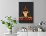 Scarecrow Pumpkin Halloween Premium Wall Art Canvas Decor