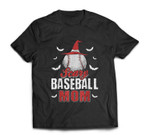 Scary Baseball Mom For Halloween Party T-shirt
