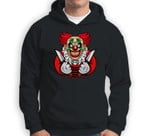 Scary clown as a costume for Halloween celebration Sweatshirt & Hoodie