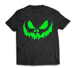 Scary Face Halloween  Frightening T-shirt