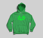 Scary Face Halloween  Frightening Youth Hoodie/T-shirt