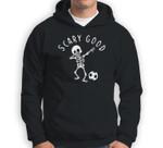 Scary Good Dab Dance Skeleton Basketball Halloween Clothes Sweatshirt & Hoodie