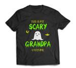 Scary Grandpa Halloween Costume Lazy Easy T-shirt