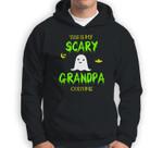 Scary Grandpa Halloween Costume Lazy Easy Sweatshirt & Hoodie