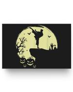 Scary Halloween Taekwondo Martial Arts Tae Kwon Do Full Moon Matter Poster