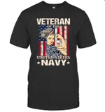 Veteran Of The United States Navy Women Veteran Shirt