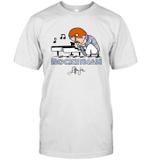 Elton John Rocket Man Peanuts Style Playing Piano Funny T Shirt