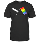 Diceside Of The Moon D20 Dice Set Tabletop Game Shirt
