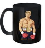 Donald Trump 2020 American Boxing Champion Boxer Merica Gift Mug