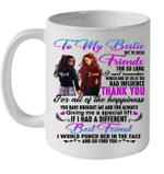 Best Friend To My Bestie We've Been Friends For So Long I Can't Remember Coffee Mug
