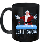 Let It Snow Santa Wine Adult Humor President Donald Trump Funny Gag Gifts Mug