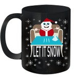 Let It Snow Santa Adult Humor Party Santa Funny Gag Gifts Mug