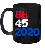 86 45 2020 Anti Trump 8645 Dump Trump Mug