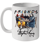 Stephen King Horror Characters Friends Signature Mug