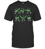 Dance Challenge Shamrocks ST Patrick's Day Funny Shirt