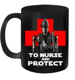 To Nurse And Protect Mug
