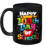 100th Day Of School T Shirt Happy 100 Days Teacher Mug