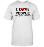 Funny I Love People Under General Anesthesia Nurse Gift Shirt