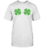 Irish Shamrock Boobs Saint St Patrick's Paddys Day Shirt