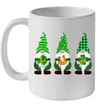 Three Gnomes Lucky St Patrick's Day For Men Women Kids Mug