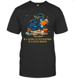 In A World Of Bookworms Be A Book Dragon Gift Shirt