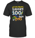 My Students Survived 100 Days Of Me Teacher Student Gift Shirt