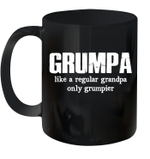 Grumpa Like A Regular Grandpa Only Grumpier Mug