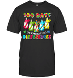 Autism Awareness Gnomes Of Embrace Differences 100 Days School Shirt