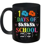 100 Days Of Sksksk School And I Oop Scrunchie Girls Meme Mug