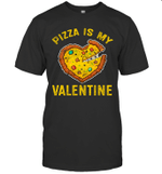 Pizza Is My Valentine Valentines Day Gamer Boys Girls Shirt