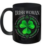 Irish Woman Angel The Soul Of An Angel Mug