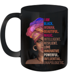 I Am Black Woman Black History Month 2020 Mug