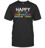 Math Formula 100 Days Of School Boys Girls Shirt