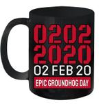 Palindrome Epic Groundhog Day 02 02 2020 Mug