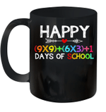 Math Formula 100 Days Of School Boys Girls Mug