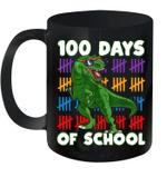 100 Days Of School 100Th Day Dino Mug