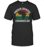 Proud School Counselor Gift Pride Black History Month Pupil Shirt