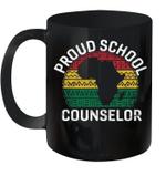 Proud School Counselor Gift Pride Black History Month Pupil Mug