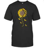 You Are My Sunshine Sunflower Dinosaur T-Rex Shirt