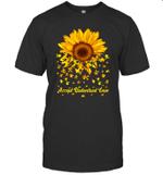 Sunflower Accept Understand Love Autism Awareness Gift Shirt