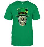 Sugar Skull Saint Patrick's Day Of Dead Shirt