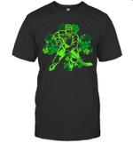 St Patrick's Day Hockey Irish Boys Saint Paddys Shamrock Shirt