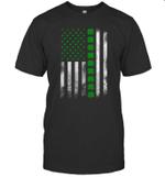 St Patrick's Day Irish American Flag Shirt