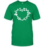 Shamrock Heart Irish Funny St Patrick's Day Shirt
