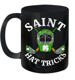 Hockey St Patrick's Day Shamrock Paddy's Irish Mug