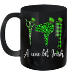 Hairstylist A Wee Bit Irish Hair Stylist St Patrick's Day Mug